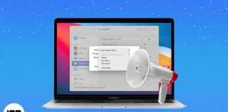 How to announce alerts on Mac